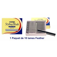 Paquet de 10 lames feather